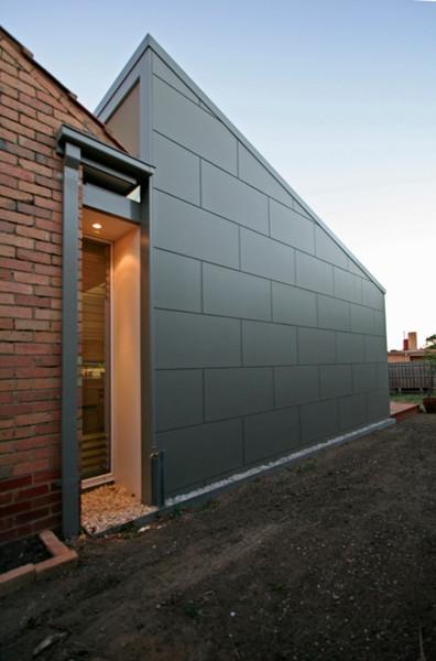 Wonderful Preston House   Extension To Post War Brick Veneer House  Contemporary Exterior