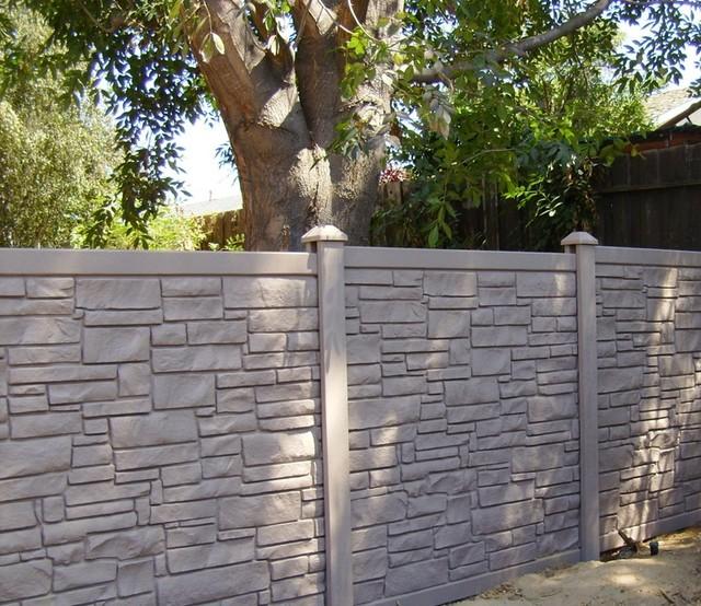 Privacy Fencing 2 Traditional Exterior Los Angeles