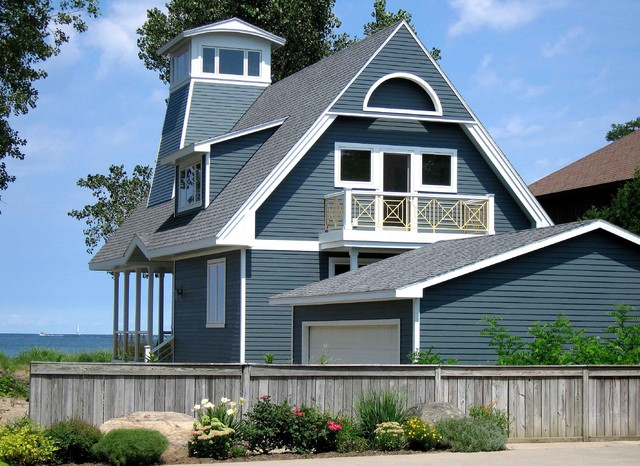 Private Cottage, Sodus Point, NY - Traditional - Exterior - New ...