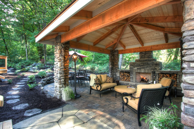 Private Paradise Portland Landscaping traditional-exterior