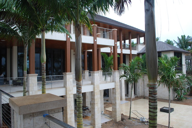 Private Residence Beginning Install Manalapan, FL contemporary-exterior