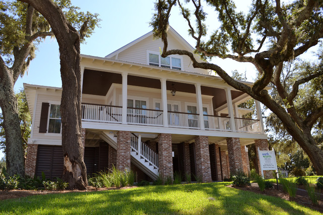 Private Residence in Biloxi, MS traditional-exterior