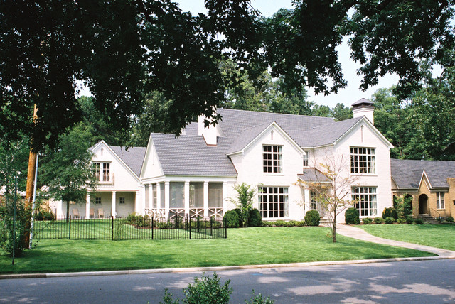 Private Residence Little Rock Addition traditional-exterior