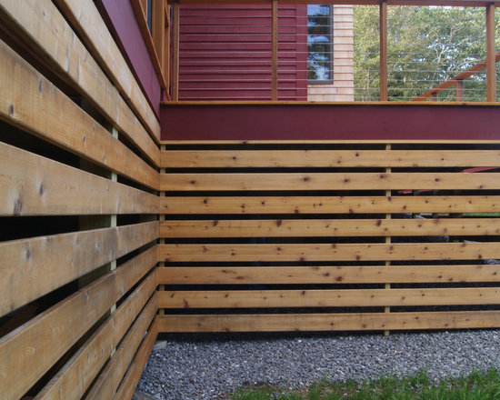 home depot fencing slats with Under Deck Storage on Fencing how to install posts rails chain link fence HT PG BM in addition 5 also Modern Horizontal Fence furthermore Corrugated Metal Fences together with Modern Privacy Fences.