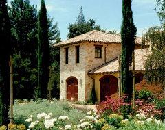Private Residence - Woodside, California mediterranean-exterior