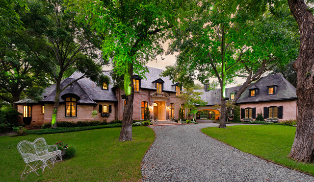 Private Residences - Country French traditional-exterior
