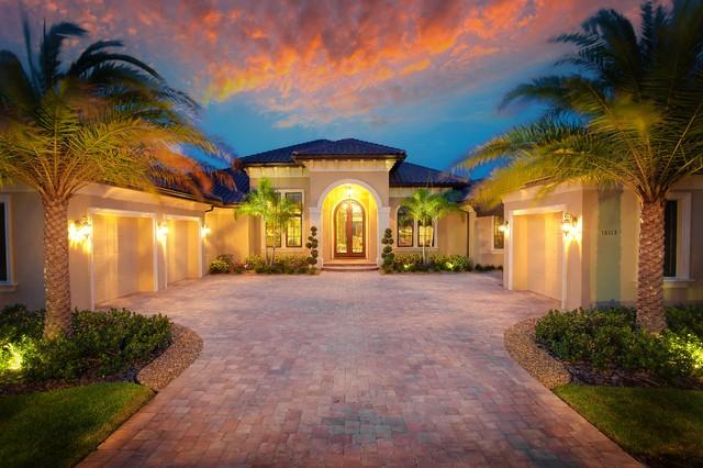 Private South Florida Residence mediterranean-exterior