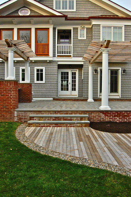 Project in process down the shore! traditional-exterior