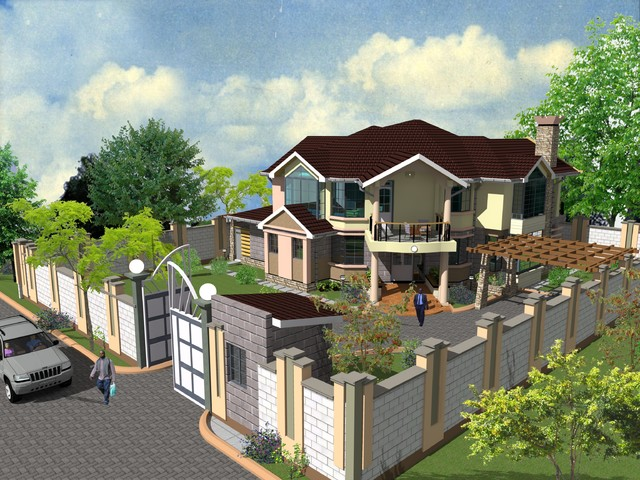 Proposed 4 bedroom maisonette murang 39 a for Maisonette house plans