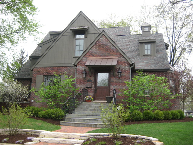 Prospect Brick Bungalow Remodelling Traditional Exterior