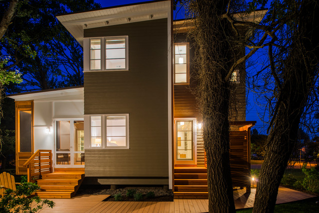 Prospect House contemporary-exterior