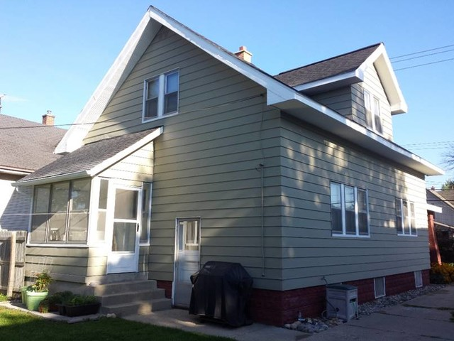 Protect Painters Exterior Painting Of Aluminum Siding Midcentury Exterior Grand Rapids