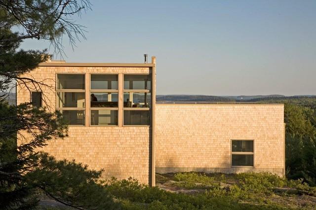 Punkinville House contemporary-exterior