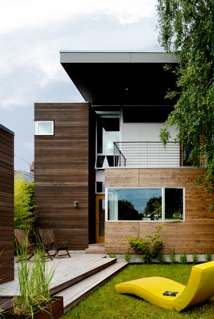 Push_Pull Residence contemporary-exterior