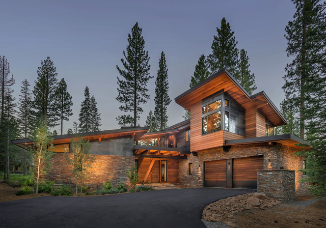 Putter S Cabin Contemporary Exterior Sacramento By