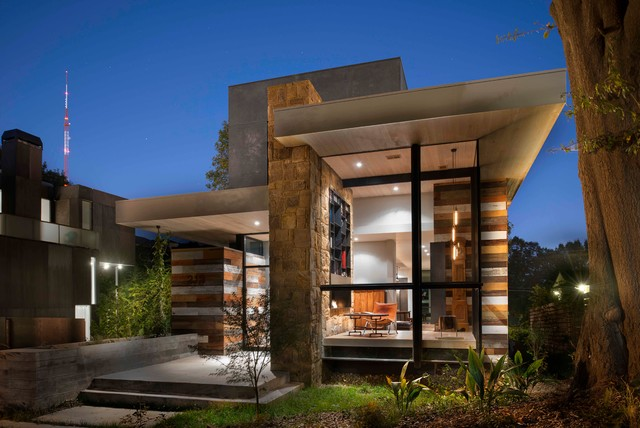 Pyrite House Exterior Atlanta By West Architecture