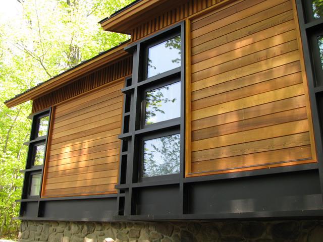 Quaker Bluff Cottage contemporary-exterior