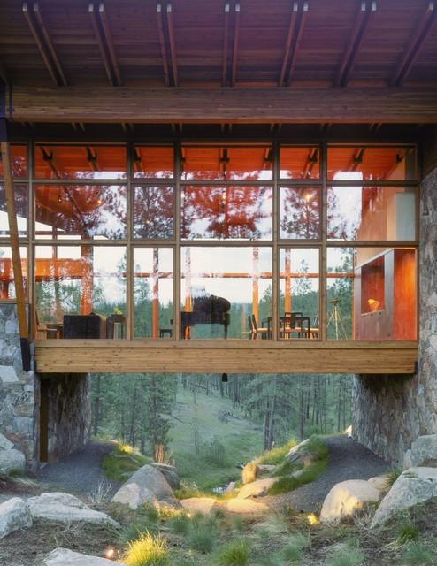 Quantum Windows & Doors | Olson Sundberg Kundig Allen Architects contemporary-exterior
