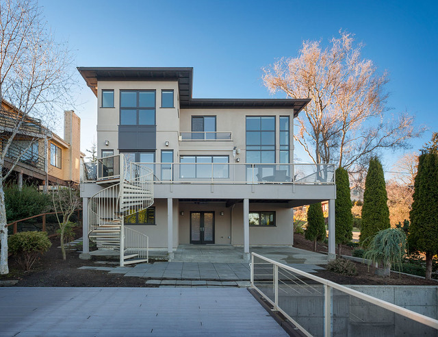 Queen Anne Remodel contemporary-exterior