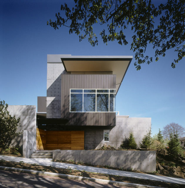 Queen Anne Residence contemporary-exterior