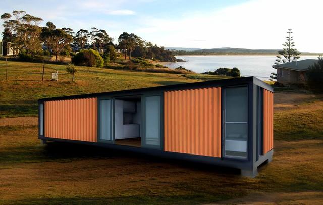 Quickshack Self Contained Modular Accommodation Modern