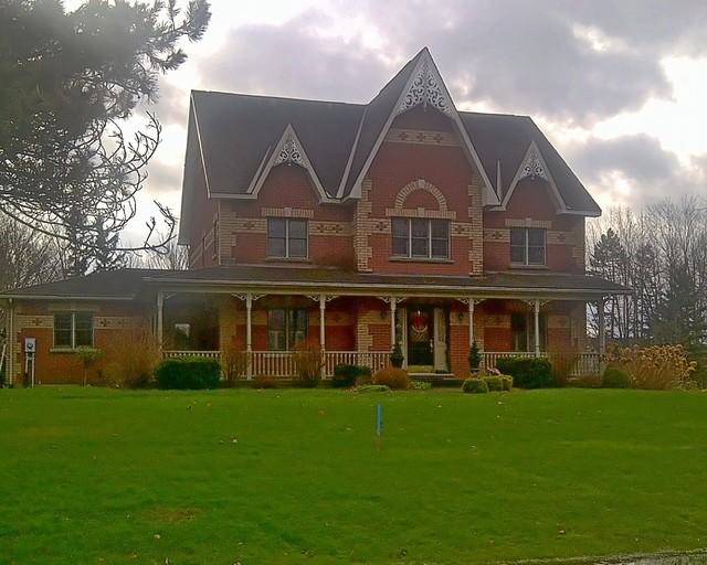 Quintessential Victorian traditional-exterior
