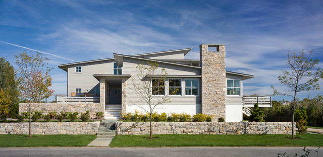 Quonnie House Contemporary Exterior Providence By