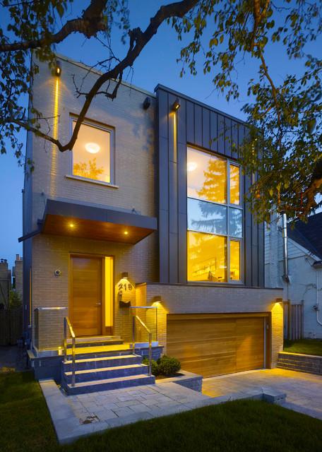 R Residence contemporary-exterior