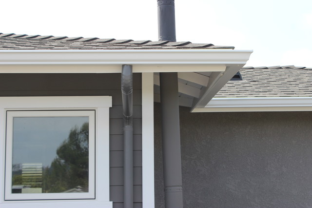 Rain Gutters In Culver City K Style Seamless Aluminum