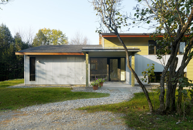 Raised Ranch Retrofit Contemporary Exterior Burlington By