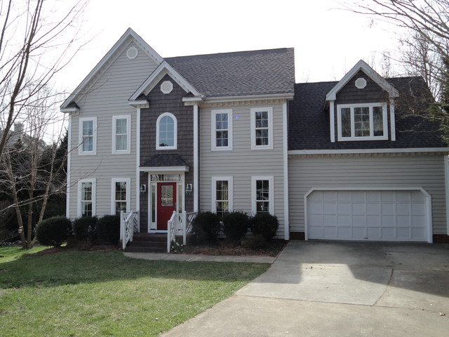 ... replacement - Traditional - Exterior - raleigh - by Windows, Doors
