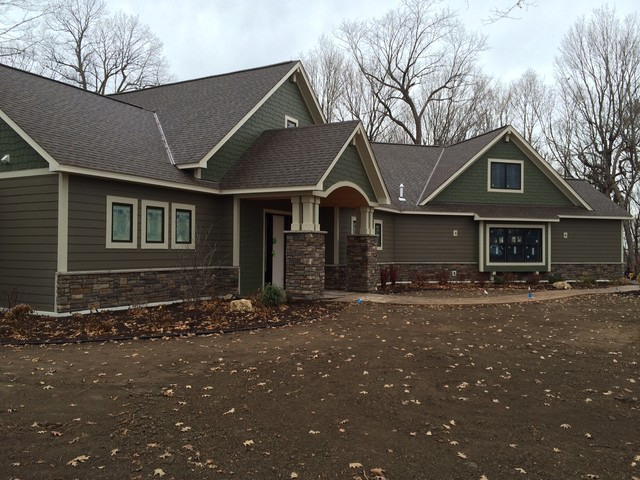 Rambler Homes Craftsman Exterior Minneapolis By