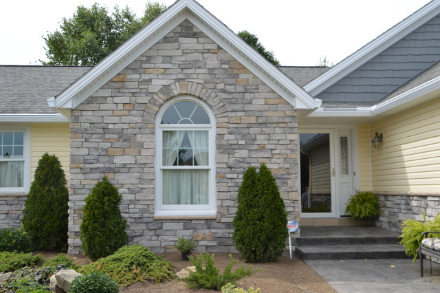 ranch exterior update traditional exterior cleveland by miller custom exteriors