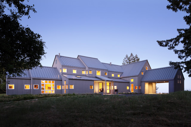 Ranch in Sonoma transitional-exterior