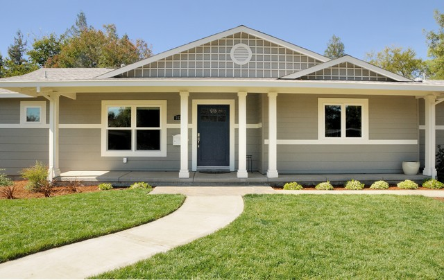 Ranch style dressing traditional exterior sacramento for Ranch style house renovations
