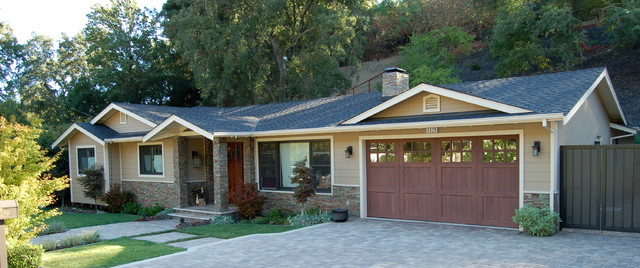 Ranch transformation traditional exterior san francisco by dwelling resources House transformations exterior