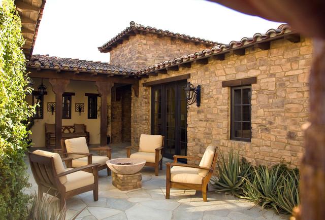 Rancho Mirage Villas mediterranean-exterior