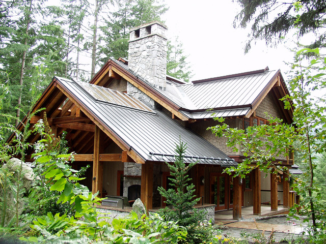 Ravens Wood Whistler Bc Rustic Exterior Other Metro