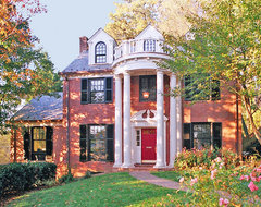 Re-imagined Northern Virginia Colonial traditional-exterior