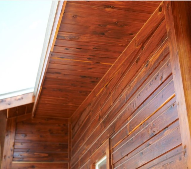 real wood siding rustic exterior by sikkens proluxe