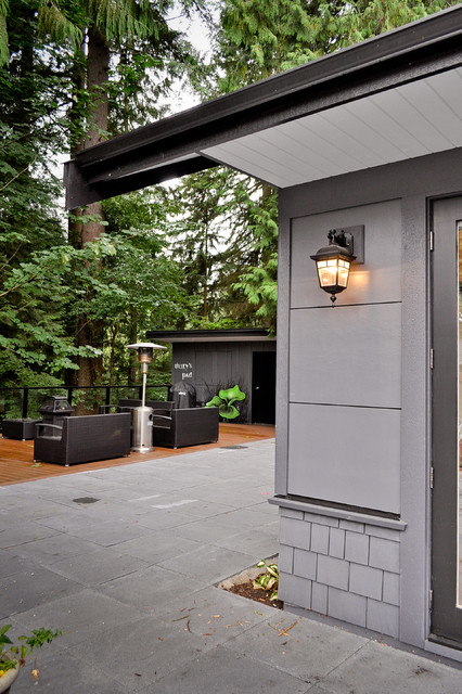 Rear Decking contemporary-exterior