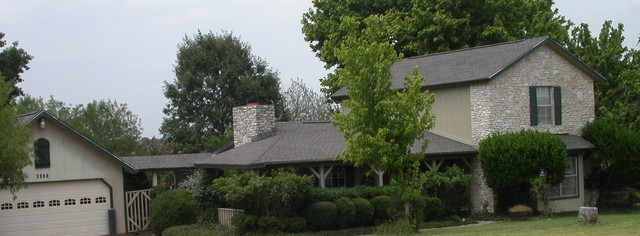 Recent Austin Roofing Projects traditional-exterior