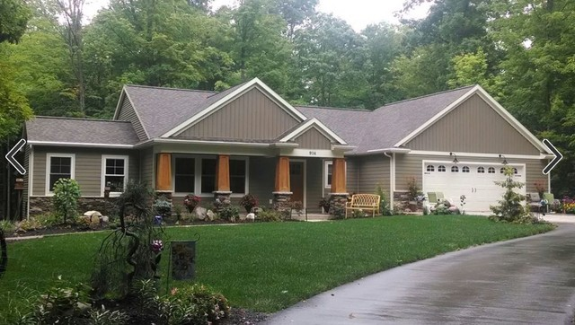 Recently Completed Homes Rustic Exterior Grand