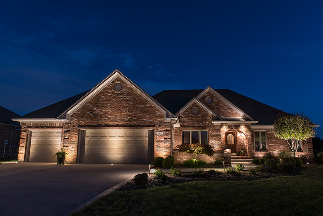 Recessed Outdoor Lighting Traditional Exterior Denver By Lighthouse O