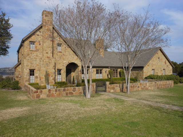 Reck Home Traditional Exterior Austin By River