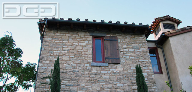 Reclaimed Barn Wood Shutters in a Rutic Tuscan Style traditional-exterior & Reclaimed Barn Wood Shutters in a Rutic Tuscan Style - Traditional ...