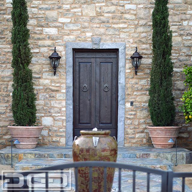 Reclaimed Wood Entry Door Made In Rustic Reclaimed Oak Rustic