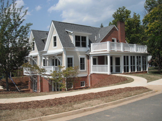 Rectory traditional-exterior