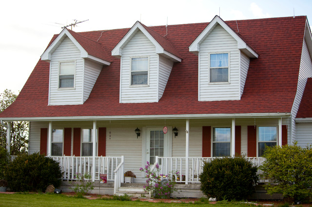 Superb Red Shingle Re Roof In Valparaiso, IN Traditional Exterior