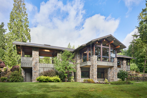 Residential architecture in Bellevue